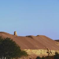 敦煌の砂漠