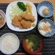 ひれかつ定食・・・炊屋食堂日替わりメニュー・・・夏 !