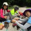 2017中央アルプス縦走:3日目木曽殿山荘~伊奈川ダム上登山口