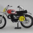 1/12スティーブ・マックイーンのモトクロス用ヘルメットとハスクバーナ400CR Steve McQueen's Helmet and Husqvarna 400CR