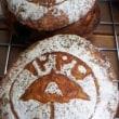 絵入りのパン