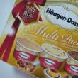 ハーゲンダッツマルチパック(ビターキャラメル・カスタードプディング・クッキー&チョコレート)