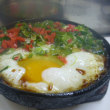 熱々スキレットの山芋とろろが感激するほど美味しかった件☆半田屋☆大阪市浪速区♪
