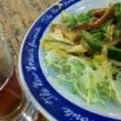 習志野市 京成大久保 まんぷく食堂  カキフライ定食と珍味ミミガー