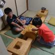 8月20日子供教室の風景