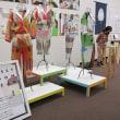 地味だが上品、そして緑の織 国展2018