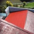 総面積193平方メートル コロニアル屋根の塗装 茨城 取手