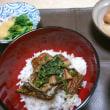 アナゴ丼、久しぶり(*^-^*)