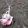 H29ソバの栽培 その1耕運機を掛ける