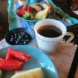 高原の朝食