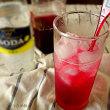 我が家の紫蘇ジュース ソーダ割り