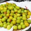 小梅の梅酢漬け