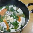 おばさんの料理教室No.2796 野菜鍋豚肉しゃぶしゃぶ