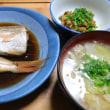「魚の煮付け」352kcal