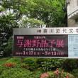 神奈川近代文学館で「生誕140年与謝野晶子特別展」をみて