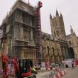 イギリス最初の観光はここ・・  (カンタベリー大聖堂)