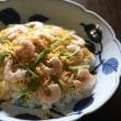 和風献立 ちらし寿司・青しそつくね焼・ブロッコリーーとえりんぎにサラダ