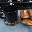 レモンティーで朝食