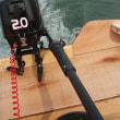 ボート作り・・・・・・浸水テスト