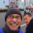 東京マラソンを、応援してます。