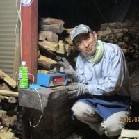 2018年3月26日~4月1日 鳴沢公房の『窯焚き』