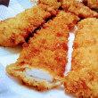 3月22日(金)のつぶやき イカフライの快速生解凍って、魚貝類ボタンを選択して、温めイッカイ(1回)でいいのかな?イカだけに…w 男の料理