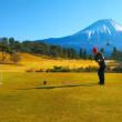 一年ぶりのゴルフ