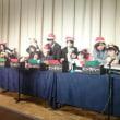 メリークリスマス!身体が不自由な方々の団体HOPの合同クリスマス会に参加させていただきました。ハンドベルで「きよしこの夜」を見事に演奏してくれました。ありがとうございました!