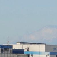富士山がはっきり見えてきました。素敵です。