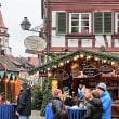 独・ゲンゲンバッハの町と装飾吊り看板(アドベントカレンダー)
