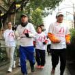 知的障害者のスポーツの祭典、走ってPR