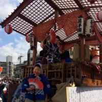 平川神社の秋祭り(2017年10月8日)
