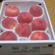 御坂の美味い桃が届く