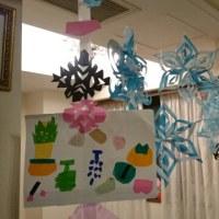 育児:  クリスマスデコレーション 雪の結晶