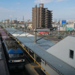 JR天竜川駅 橋上駅初めての利用 と貨物列車(2017年9月24日)