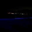 逗子海岸 NIGHT WAVE と キャンドル の光のアートが