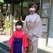 卒園式・ママと一緒に袴