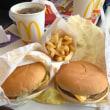 東葛西のマクドナルドで昼食