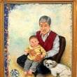 赤穂図書館で 四季彩 絵画展