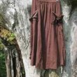 ガーゼコットンのパンツとスカート。
