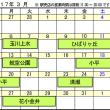 3月の出店日程をお知らせいたします