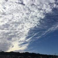 うろこ雲とケーゲルシュタット