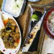 秋刀魚と山形風芋汁