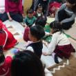広場のクリスマス会は、幼児さんが大喜びでした。