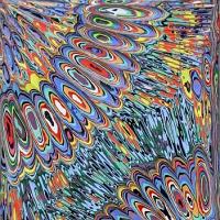 アクリル実験507 抽象457
