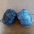 ラメ入りの糸