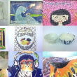 児童画・一般絵画・趣味制作クラス 作品