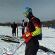 恵庭クロスカントリースキーレースは寒かった
