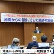 「沖縄からの報告、そして激励の集会」に参加しました