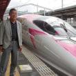 ハローキティ新幹線、1駅乗車